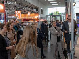 Participants at the Hannover Fair